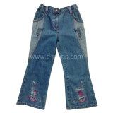 Elegante chica's Jeans. 2014 Nuevo estilo de las mujeres de rayas /Chica'sjeans