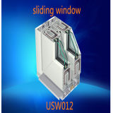 Double glace Tempered isolante Pvcsliding Windows