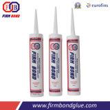 Puate d'étanchéité acétique ignifuge de silicones de qualité supérieur de haute performance