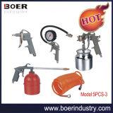 空気Gun 5PCS Kit Air Gun 5PCS Kit Washing Gun Blow Gun Inflating Gun Air Hose (5PCS-3)