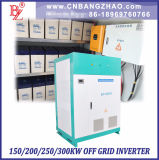 Puissance de puissance élevée 100kw 200kw 300kw Puissance de sortie complète de 94% Système de secours à haute efficacité Système solaire Inverseur d'énergie hybride