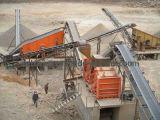 Гравий камушка реки задавливая завод (50-500t/h)
