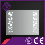 2016 nuevo estilo Iluminado rectángulo decorativo de pared de baños luz del espejo