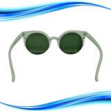 Châssis de PC de lentilles de couleur blanc Cat Lunettes de soleil de l'oreille