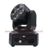 mini lumière principale mobile de 4PCS 10W RGBW 4in1 DEL