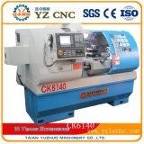 Torno del metal Ck6140 y torno horizontal del CNC