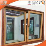 Fenêtre battante en bois massif en bois massif en bois de pin en aluminium, en alliage d'aluminium en bois de chêne massif