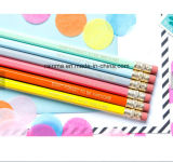 Crayon d'HB de promotion avec la gomme à effacer