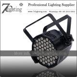 162W LED RGB Refletor PAR 54X3w iluminação de palco