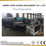 A impressora Chain Slotter de Flexo da cor do alimentador 2 e morre a máquina do cortador
