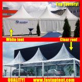 De duidelijke Tent van de Pagode van de Tent Transparante Hoge Piek voor de Gast van Seater van 200 Mensen