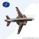 distintivo del metallo dell'aeroplano 3D per il regalo