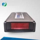 36V 10ah de Dunne Batterij van het Lithium van de Stijl voor e-Fiets in Zwarte