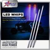 Torneira flexível de 360 ​​graus com buggy de LED, Chicoteadores de segurança LED, LED ATV UTV Whip, LED Antenna Pole Flag Light, LED Whips Longos, LED Whip 4fet, 5FT LED Whip