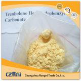 Steroidi di riserva freschi Trenbolone Enanthate Tren E CAS 10161-33-8 di colore giallo di sviluppo del muscolo di Parabolan