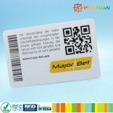 Impressão personalizada NTAG 13.56MHz213 SNF CARTÃO COM CÓDIGO QR