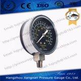 70mmの300psi黒いダイヤル概要圧力正確に測圧縮のテスター