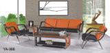 Sofá interno ajustado do hotel da mobília do sofá o mais atrasado alaranjado do quarto de recepção do projeto do melhor