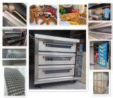Печь палубы энергосберегающей хлебопекарни 3-Deck 9-Tray электрическая (реальная фабрика)