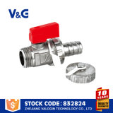Válvula de bola de aquecimento com tampa (VG-A42041)