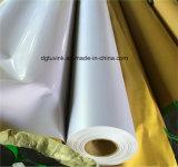 Diseño personalizado Etiqueta de pared de vidrio Publicidad Medios de impresión Cartel de PVC Flex Material Bandera de vinilo Pantalla gráfica