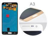 LCD Becijferaar van de Vertoning van het Scherm van de Aanraking de Echte Originele voor de Melkweg A3 A300 LCD van Samsung