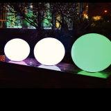 PETmaterielle RGB-Beleuchtung-Weihnachtskugel und -stühle