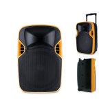 12 pouces de chariot d'étape de haut-parleur en plastique de projection avec la batterie
