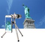 Zoom 18x Universal teleobjectiva de telefone móvel Lente da câmera