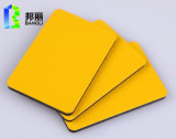 Painéis compostos de alumínio ignífugos painel de plástico de alumínio Painel de cortina de painel de teto