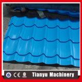 艶をかけられた屋根瓦は半形作ることを円のタイプのための機械を冷間圧延する
