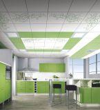 2017 Venda por atacado ISO 9001: 2008 Certificado de prova de água Decoração de interiores de teto, suspenso de telhas de teto de alumínio