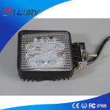 Square 27W Front LED Work Light for Trucks Jeep SUV