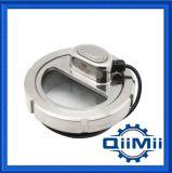 Componente sanitaria del serbatoio di vetro di vista dell'acciaio inossidabile
