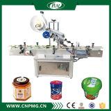 Máquina de etiquetado de encargo de la etiqueta engomada de la cara superior para la botella de la miel