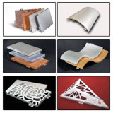 Selbst-Konzipiertes dekorative Innenmaterial-hölzernes Farben-Aluminium-Panel