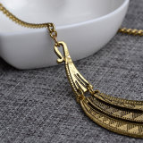 Metal Chunky Statement Pingentes e colares Bib Collar Chokers Necklace Jewelry for Women