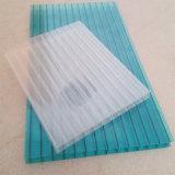 Hoja hueco antiniebla material fresca del policarbonato el 100% para el material para techos