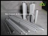 filtro de engranzamento do fio do aço 316L inoxidável