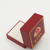 シンセンの製造業者のプラスチックビロードのリングの記憶の宝石類の宝石箱(J37-A2)