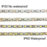 Tira los 5m de DC12V LED los 60LED/M RGB, IP20/IP65 impermeable