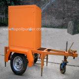 Mobile aceite aislante de aceite del transformador purificador de aceite de condensadores (ZYM)