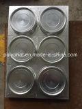 形作る自動プラスチック使い捨て可能なコーヒーふたカバー卵の皿ボックス版機械を作る