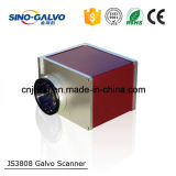 Pista Js3808 del Galvo del corte del laser para el mini equipo del corte del laser para la pequeña empresa