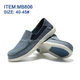 Новый стиль Мода Мужская повседневная обувь Slip-на Жан обувь (MB166)