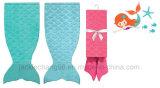 Почищенный щеткой полиэфир 100% одеяла Mermaid фланели маленький