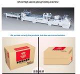 Automatischer gewölbter Karton-Kasten-faltendes Kleben und Verpackungsmaschine (GK-G)