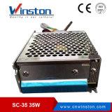 35W 12V 24V DC UPSのバッテリーの充電機能電源