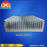 SGS 승인되는 알루미늄 단면도 열 싱크 (ISO에: 증명되는 9001:2008)