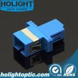 Sc al adaptador óptico de fibra del LC para el rectángulo de distribución